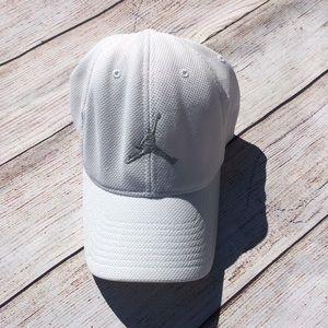 ab7d1846aa8115 Jordan Accessories - Jordan Brand White Flexfit Hat (Size S M)